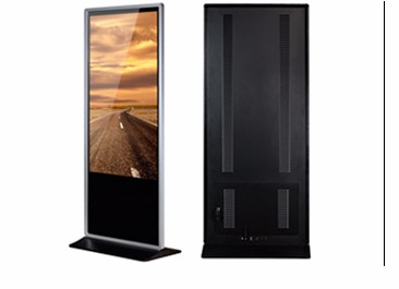19 Inch Floor Stand Interactive Advertising Player Kiosk