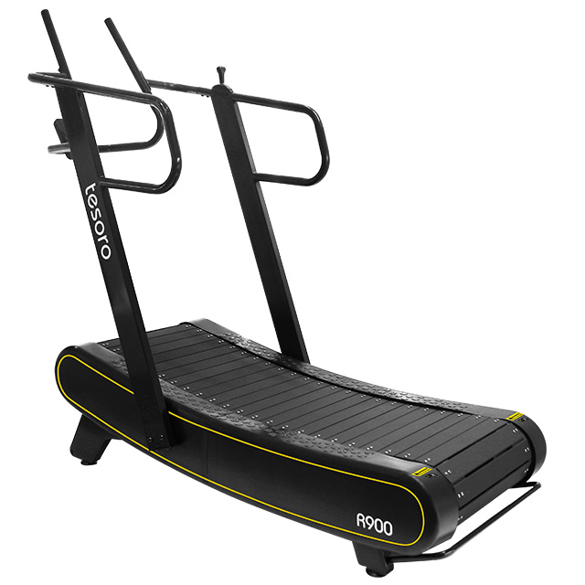 wholesale price new arrival manual commercial curved treadmill self-powered air runner woodway treadmill