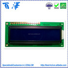 Standard 5.0V 16*2 STN Blue Negative Transmissive COB Character LCD Display Module For Printer / Electrical Price Tag