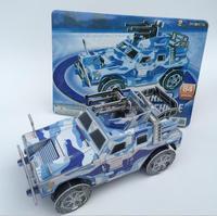 Wholsale Create Puzzles / Design Animal 3D Puzzle / Stereo puzzles 3D tank