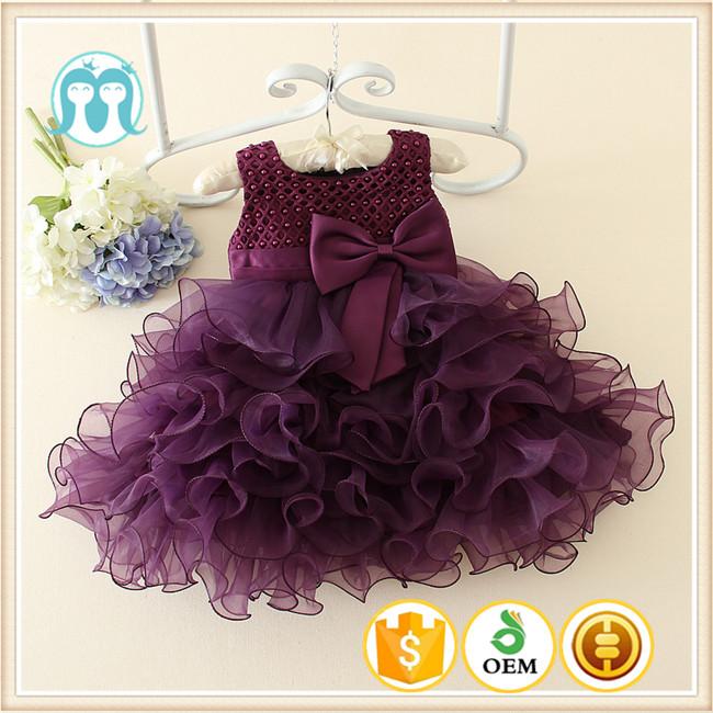 Western Dress Baby Girls Clothing Party Dress Children Frocks ...