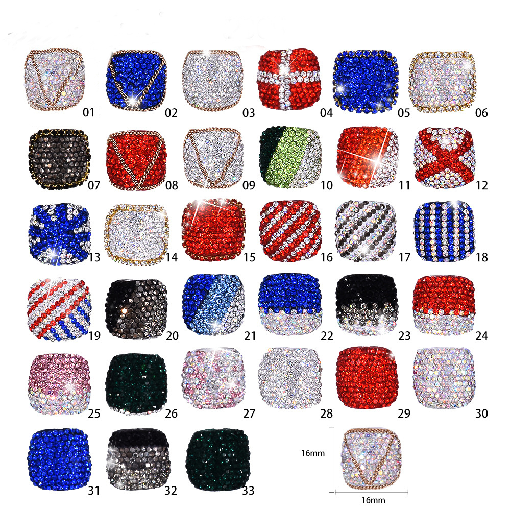 Rhinestone Artificial <strong>Acrylic</strong> Toe False <strong>Nails</strong> <strong>Tips</strong> Natural/White/Clear Foot False <strong>Nails</strong> Manicure Art Decoration Faux Ongles