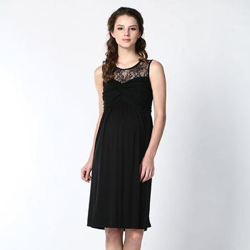 9a20801cc8 Corea damas negro fotos vestidos baratos con encaje escote por proveedor  China