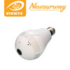 New resolution wireless hidden camera Smart wifi fisheye bulb camera