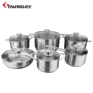 German Style Kitchen Stainless Steel Nonstick Cookware Sets Cooking Pot