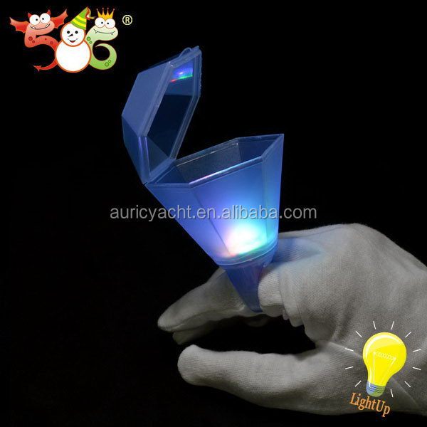Multi color Flashing diamond glasses LED Light Up Toys