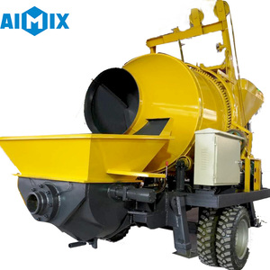 Best Price New Product Portable Mobile Concrete Mixer with Pump