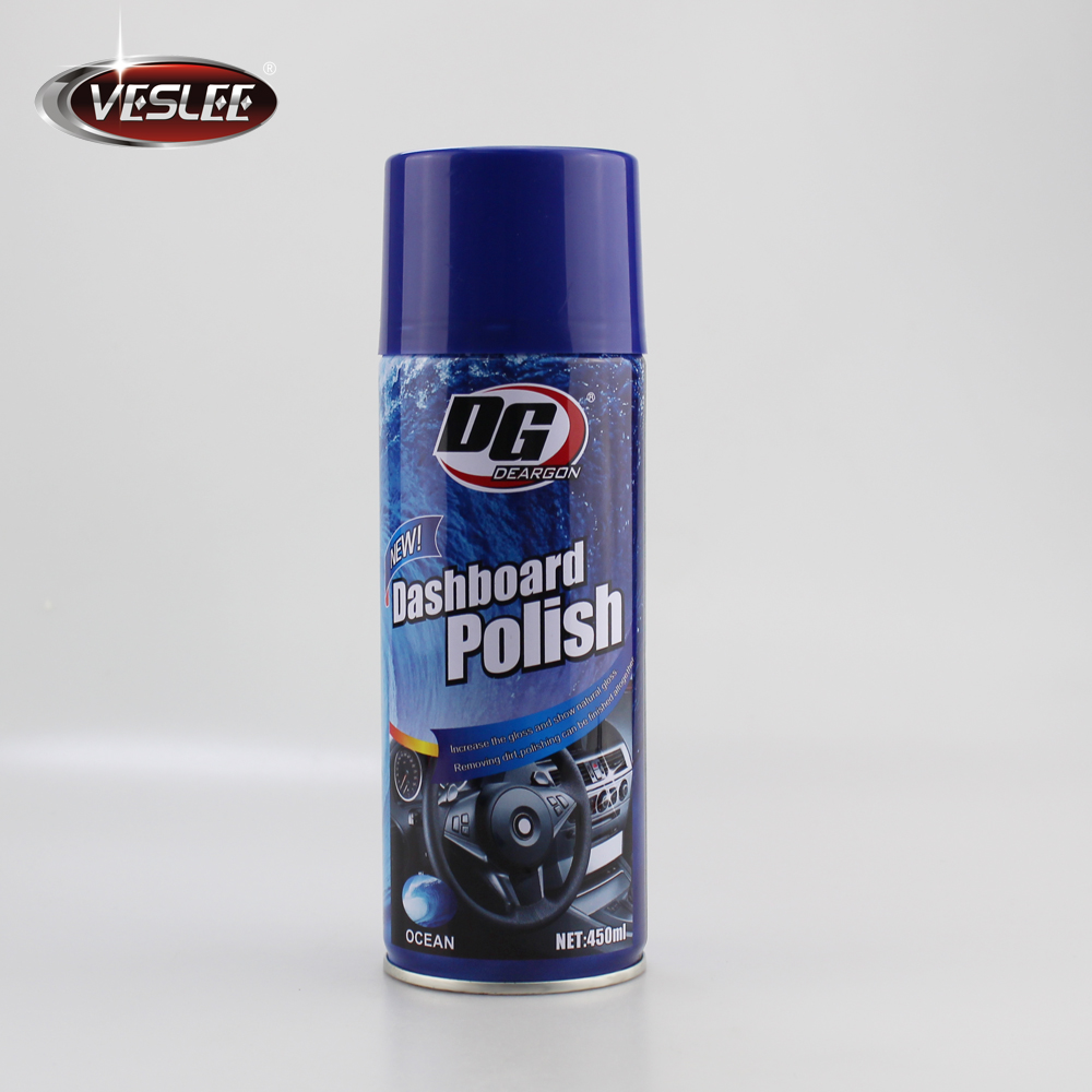 wax care polishing chemical dashboard polish spray polish 450ml