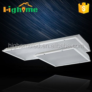 LED Professional high bright led square panel light led troffer 120 Degree dimmable light