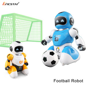 Bricstar interactive dancing football robot, programable robot toy kit for kids
