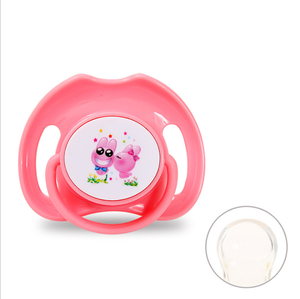 Orthodontic Durable baby Infant newborn baby silicone ring pacifier