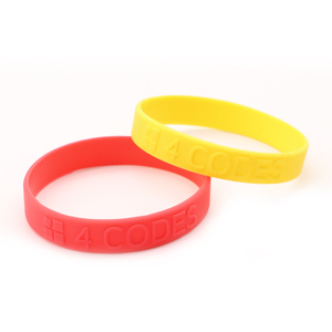 Personalized Silicone Armband Bracelet With Letters