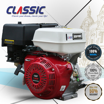 Bison Factory 13hp Air-cooled 4-stroke 188f Gx390 Engine Price