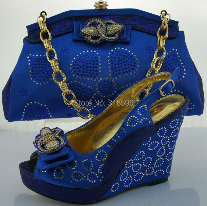 Wedding Shoes And Bags In Nigeria