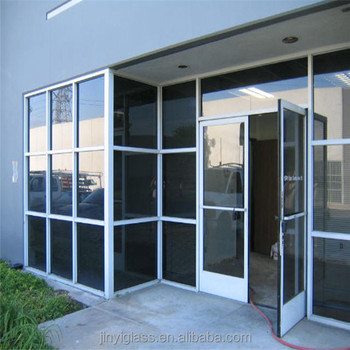 Muro Cortina De Aluminio Panel Decorativo 50mm Grueso Templado Sin ...