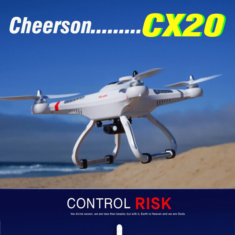 Origional Cheerson CX20 CX-20 CX 20 2.4G RC Quadcopter 4 Axis Helicopter With