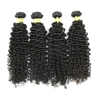 JP bouncy no tangle can dye colors short curly brazilian hair extensions