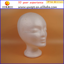 hair mannequin head black