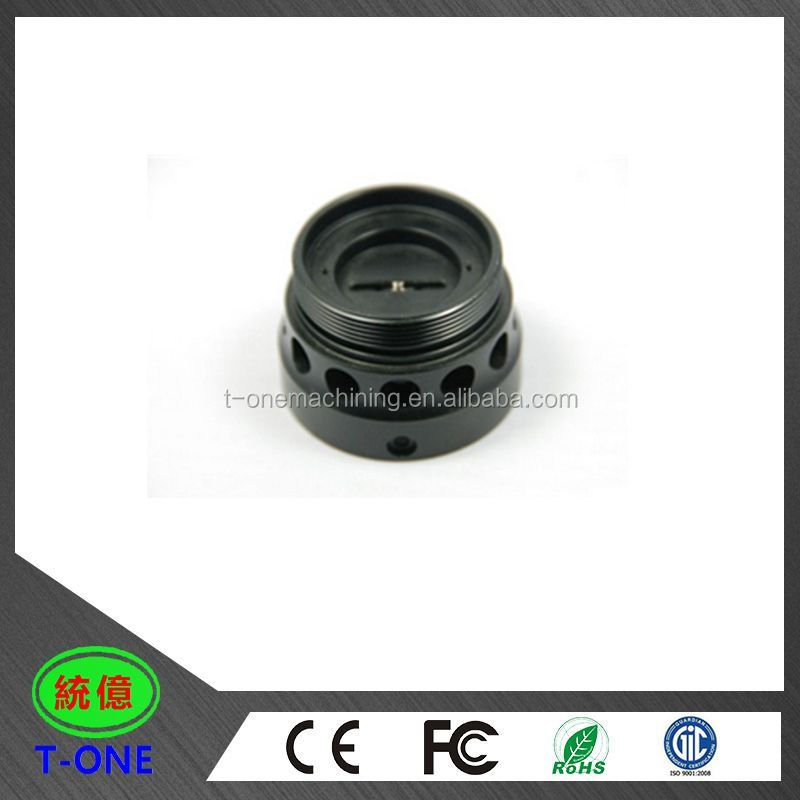 OEM manufacturing CNC custom turning & milling manufacturer stainless steel machined lock nut