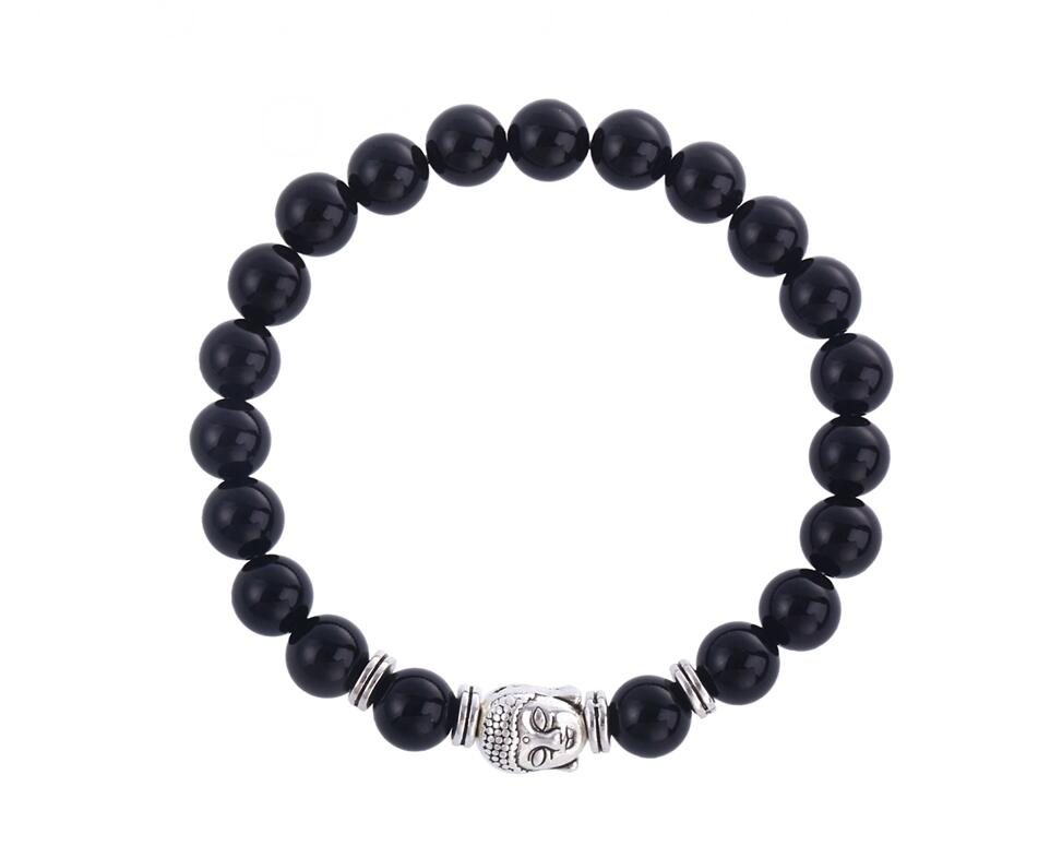 Natural Stone Bead Bracelet, Bracelet Men Wholesale Fashion Buddha Bracelet фото