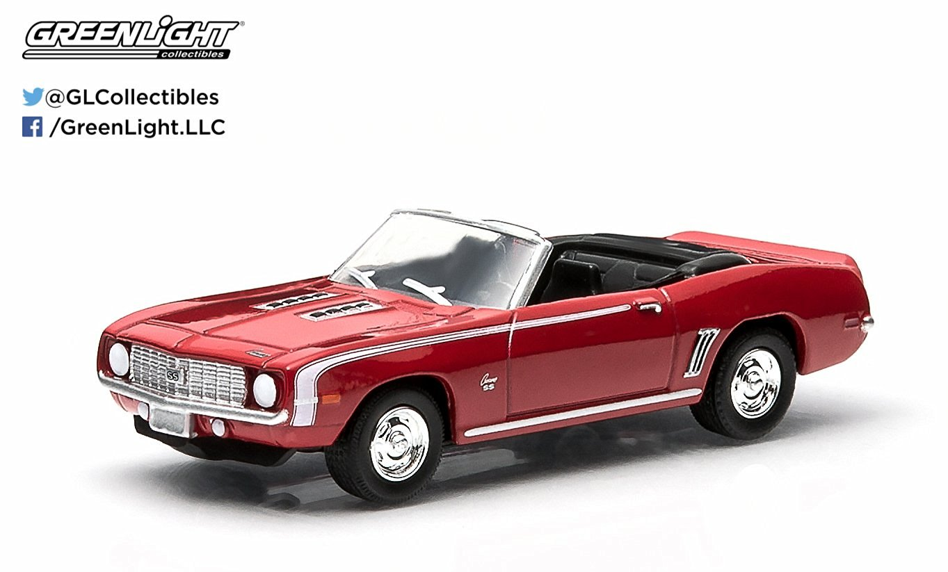 1969 Chevrolet Camaro SS (Red) * 2015 Motor World * Series 13 American Edition 1:64 Scale Die-Cast Vehicle