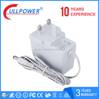 AC DC power adapter 24v 1a eu plug wall mount power adapter 24w with CE GS certifictions