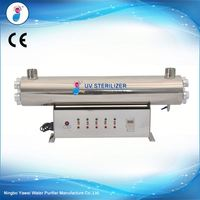 SS34 UV disinfection for reverse osmosis system with 9000h uv light/good quality uv sterilizer