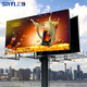 SRY High way advertising P10 outdoor led billboard price p10 rgb led display