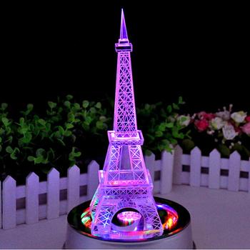 Top Seller Mini Crystal Eiffel Tower Wedding Centerpieces Buy Led