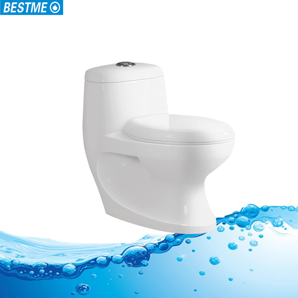 Chinese One Piece Western bathroom popular toilet commode