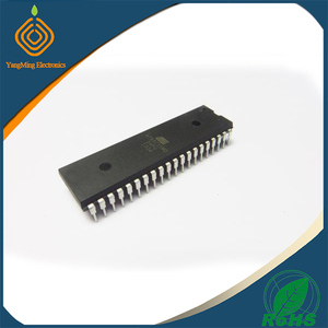 Original Atmel Microcontroller with 20K Bytes Flash IC AT89C55WD-24PU