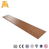 Natural wood imitation Fiber cement siding board House installation