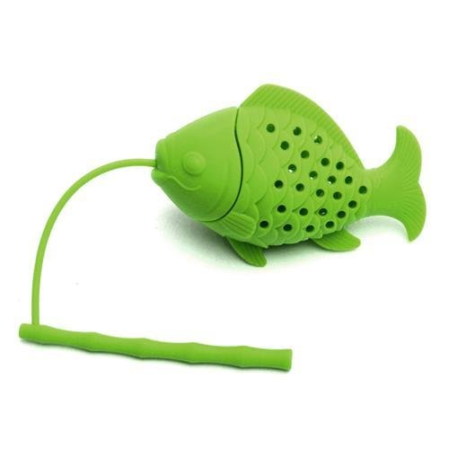 Tea Filters Strainer Coffee Kitchen Tools Accessories Fish Design Food Grade Silicone Loose Tea Leaf Infuser