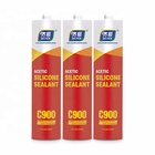 Acetic aquarium rtv Silicone Sealant waterproof Transparent fast cure adhesives