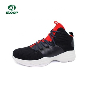 high quality new design Men's cemented shoes sport running shoes black color casual sport