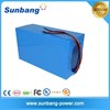 Customized design rechargeable 48v 50ah lithium battery pack for Solar storage system/electric scooter