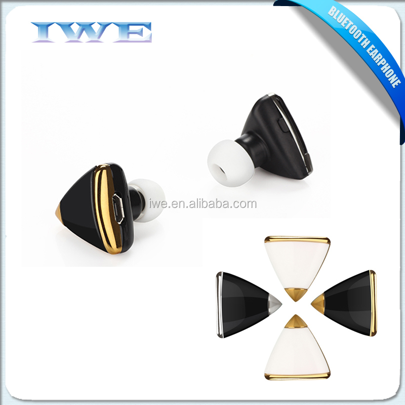 2015 New Portable Invisible Mini Wireless Earphone Bluetooth For Samsung Apple