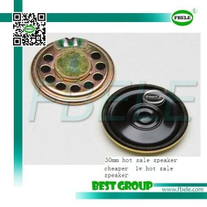 30mm cheaper 16 ohm 1w hot sale speaker FBF30-1