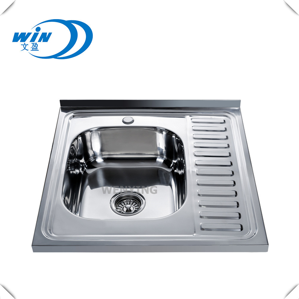 Cheap Kitchen Stainless Steel Sink Press Kitchen Sink 16 Gauge Top Mount  Square Noncorrosive Steel 304 Sink - Buy Mexican Copper Sink,Portable ...
