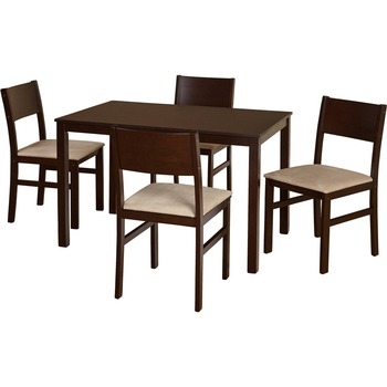 Modern Design Dining Room Furniture Imported Solid Wood Dining Table