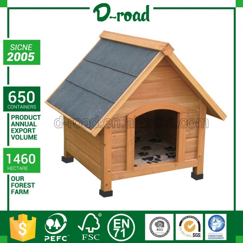 wood doghouse