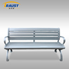 High quality aluminum material outdoor bench street bench