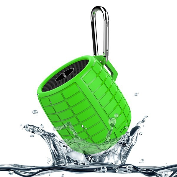 Outdoor Waterproof Shockproof Wireless Bluetooth Speaker For ipod iphone