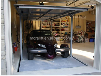 Cheap 2 Level Invisible Car Lift Parking System Car Lift
