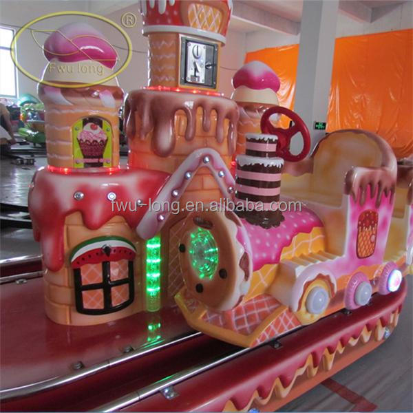 Cake pattern high quality unblocked games kiddie ride for sale