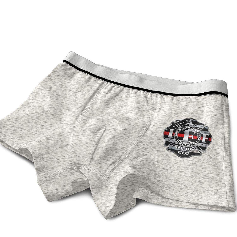 IAFF Fire Fighters Red Blue Line Cotton Teen Boys Girls Kids Underwear
