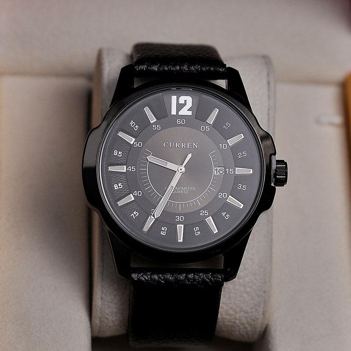 Reloj Curren 8123 Para Hombre,Reloj De Caballero Con Esfera