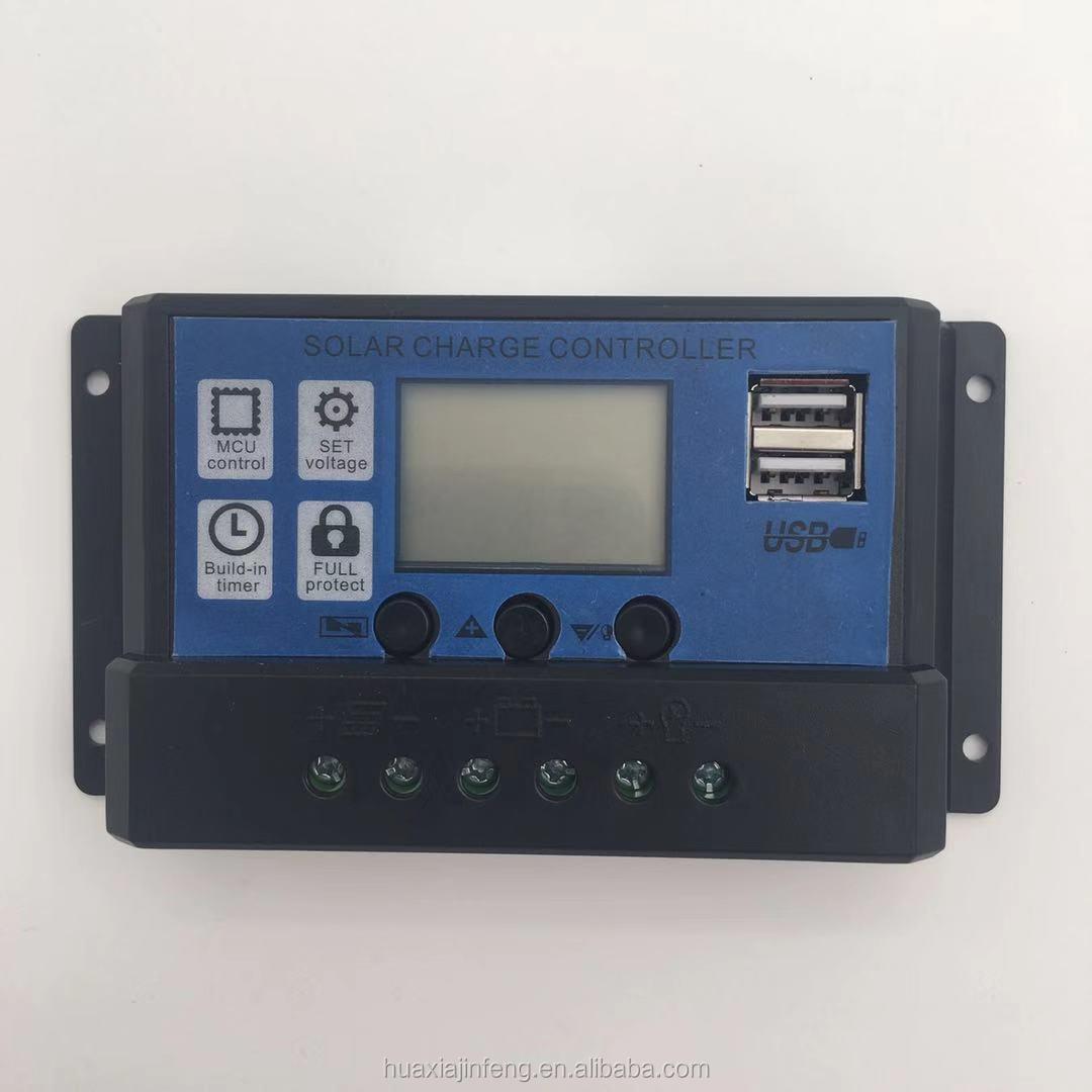 Professional Industrial Grade*20a 12/24v Pwm Solar Charge Controller Regulator Home Improvement Home & Garden