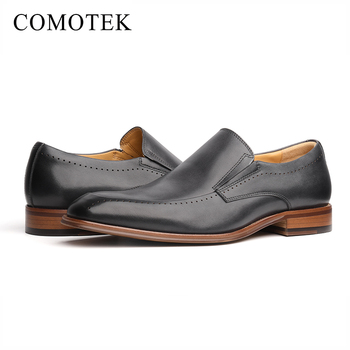 892c2ff8d86211 Wholesale italian style black genuine leather dress shoes formal mens  loafers
