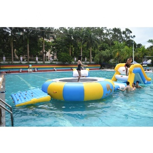 Small Inflatable Water Park Equipment For Swimming Pool